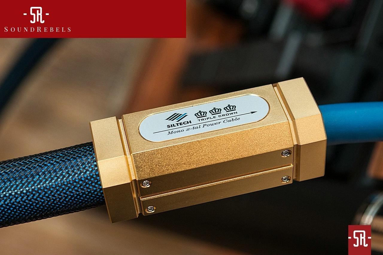 Soundrebels Siltech Triple Crown Power Cable Review