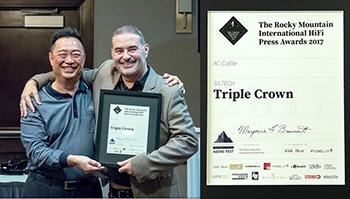 Siltech Triple Crown Award The Rocky Mountain International Hifi Press Awards 2017