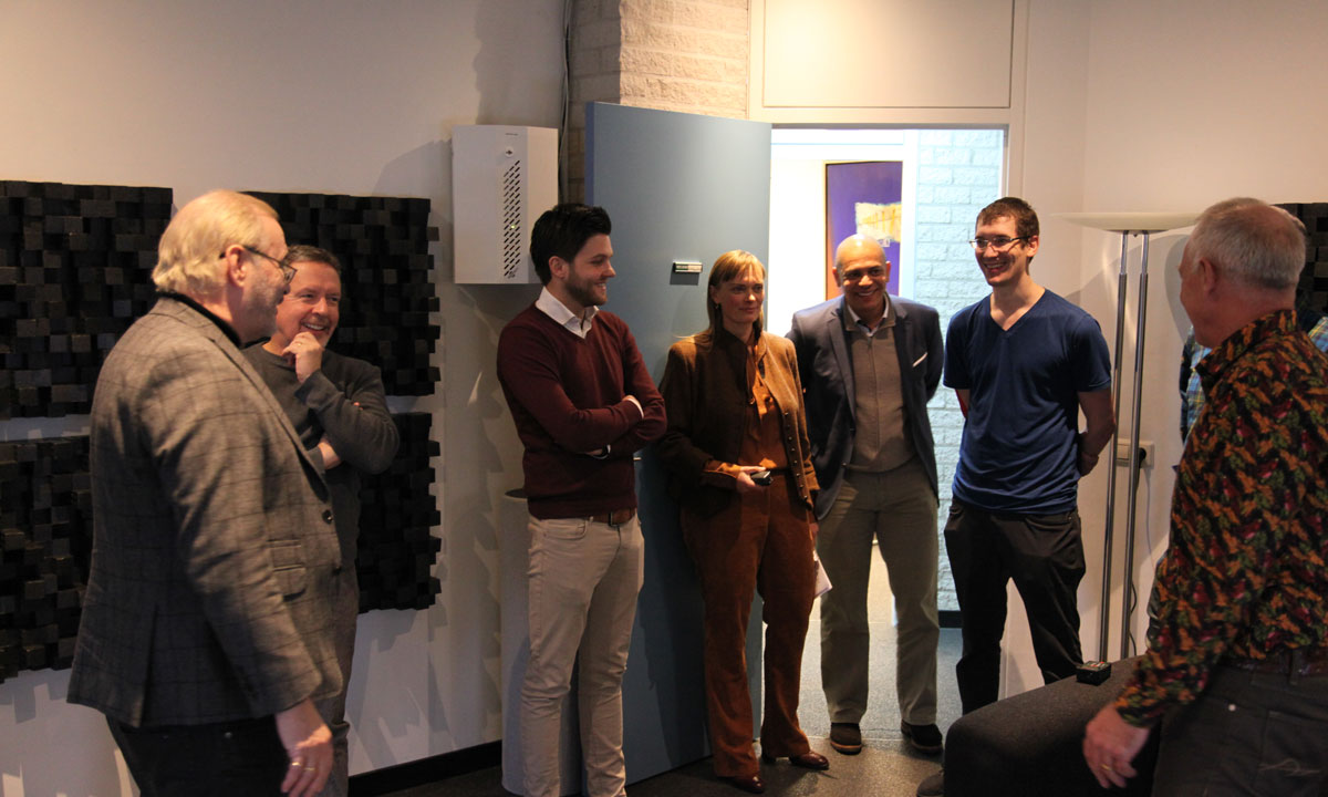 Soundstage Visits Siltech Listening Room