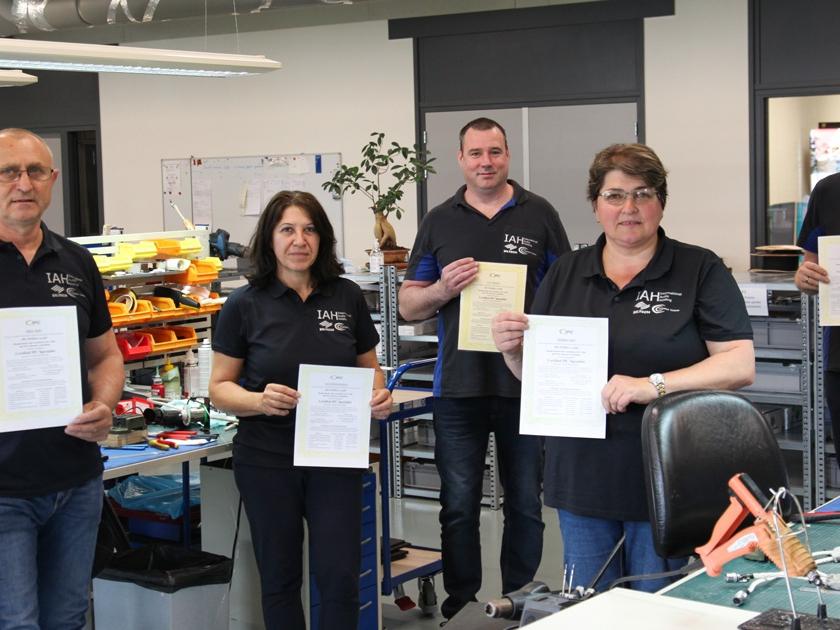 Siltech Employees IPC Certified