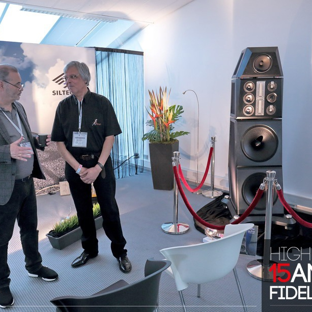 High Fidelity Booth with Siltech Symphony Loudspeaker