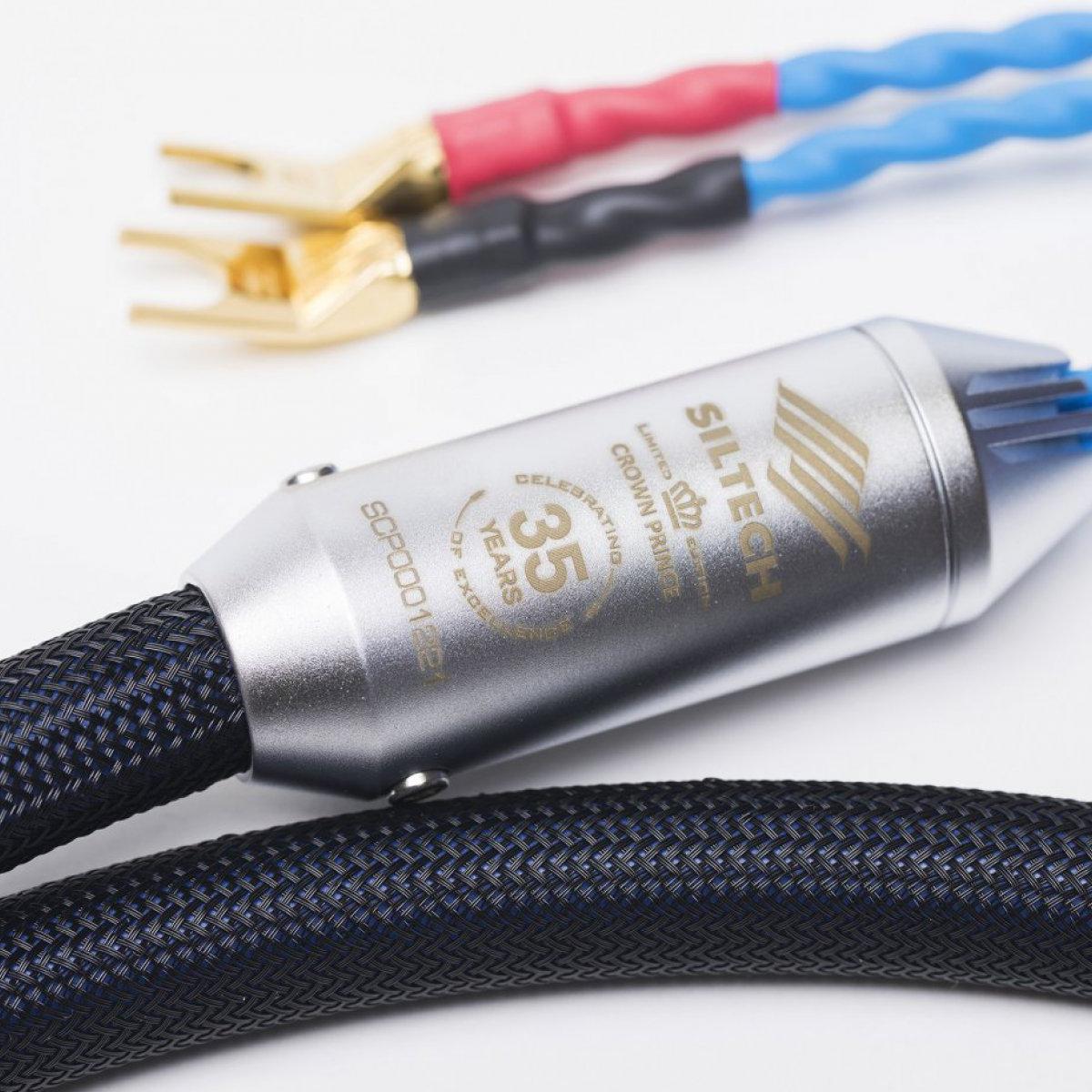 Siltech Crown Prince Loudspeaker Cable Detail