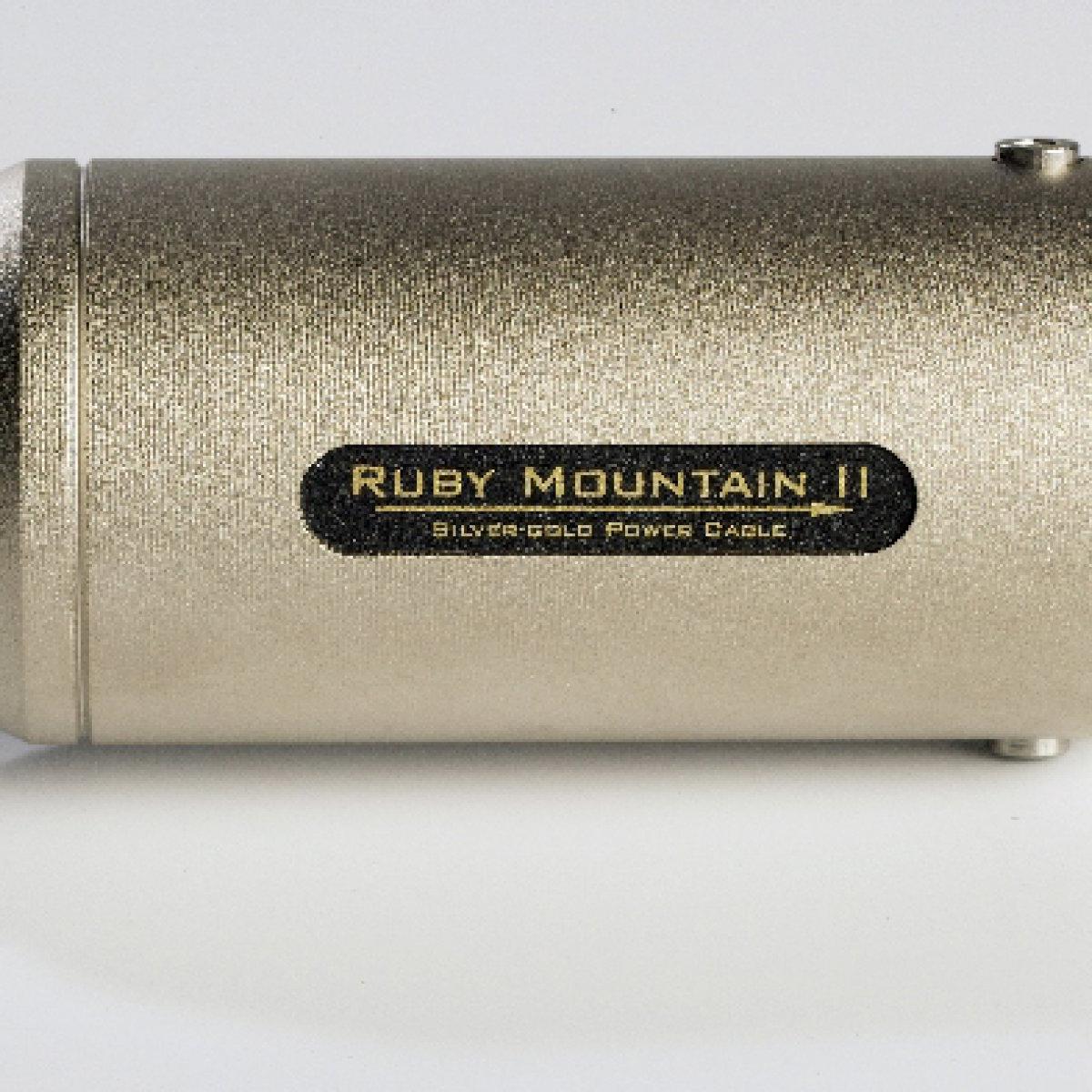 Siltech Ruby Mountain II Power Cable Barrel