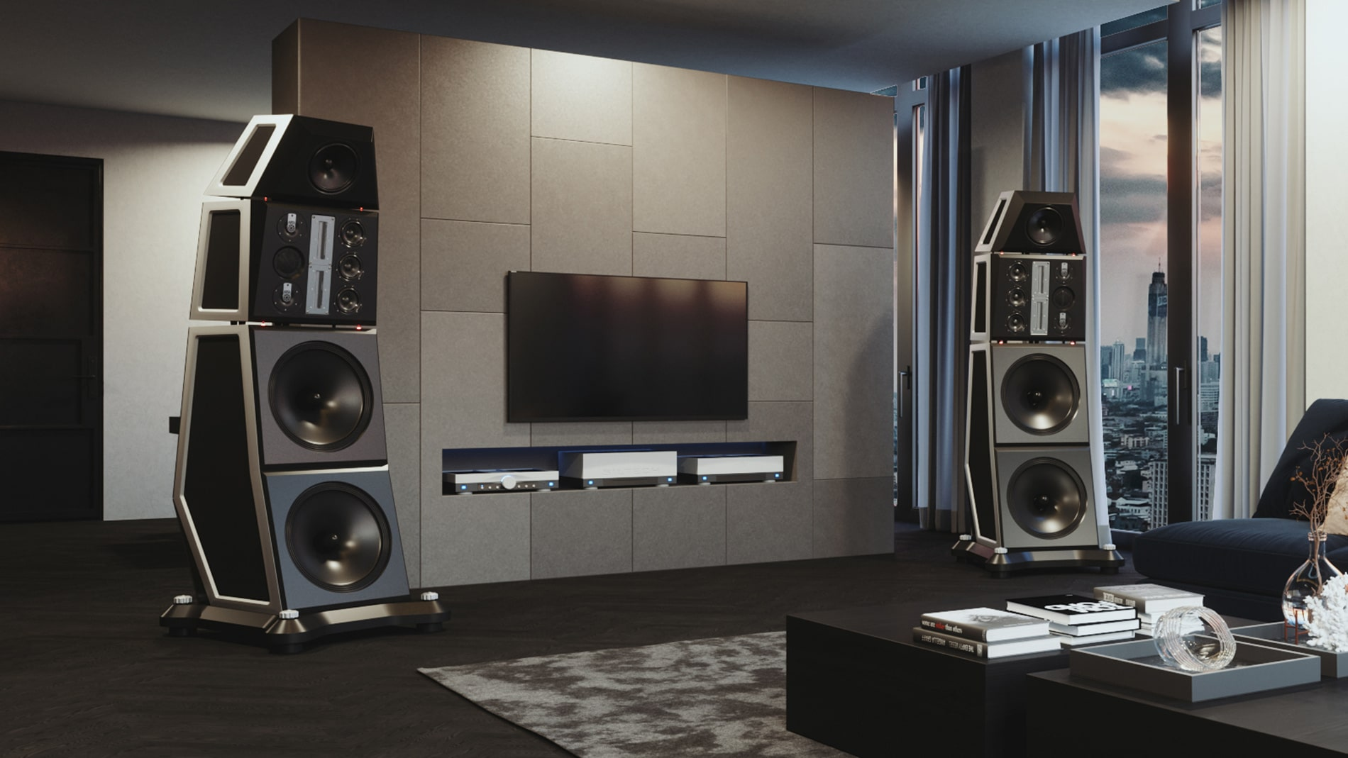 Siltech Symphony Loudspeaker Living Room Total
