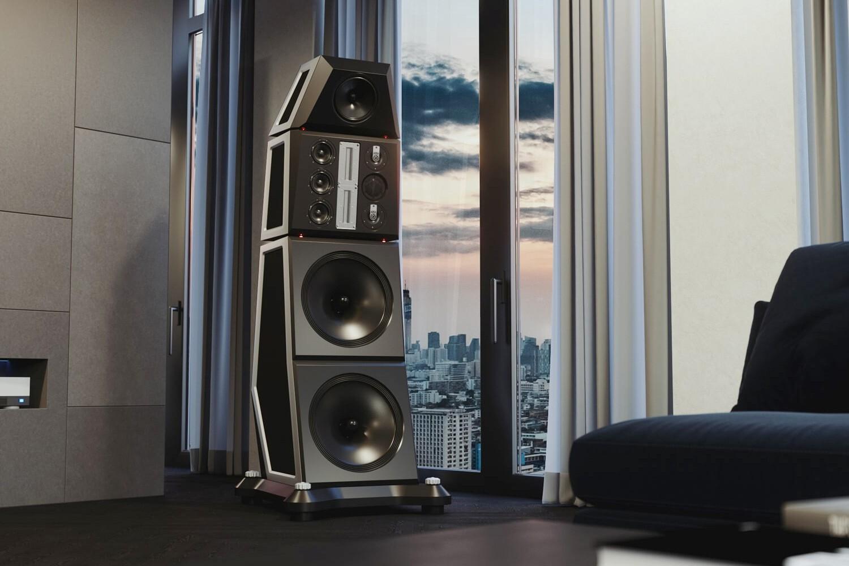 Symphony Loudspeaker in Loft