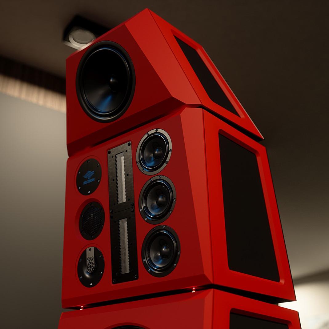 Siltech Red Symphony Speaker Top Cabinet